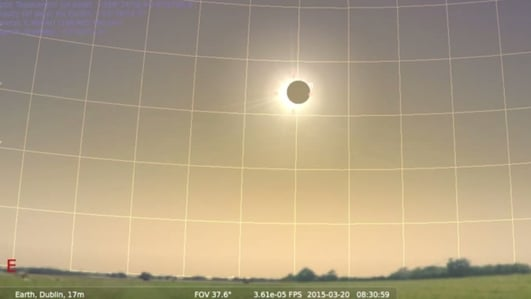 How to look at the eclipse safely