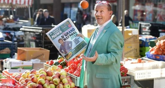 Grand Marshall of The Dublin St. Patricks Day Parade - Brendan O Carroll