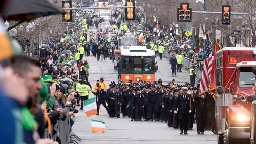 Thousands lined the streets of South Boston for the parade