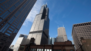 The 442-metre Willis Tower in Chicago