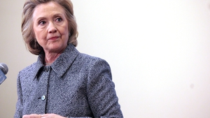 Hillary Clinton says more work is to be done in Northern Ireland