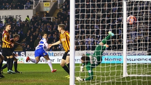 Hal Robson-Kanu headed Reading in front after just six minutes
