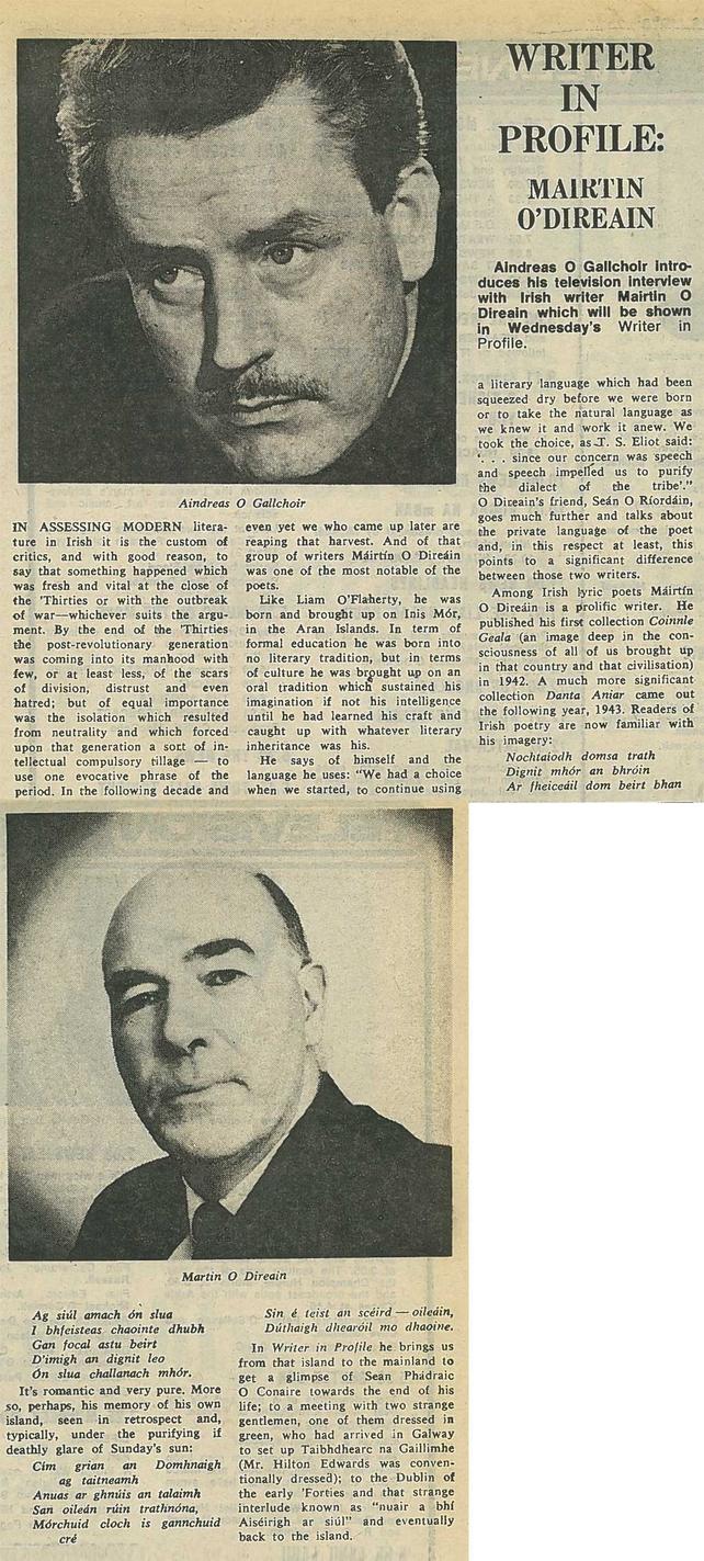 RTÉ Guide 13 March 1970