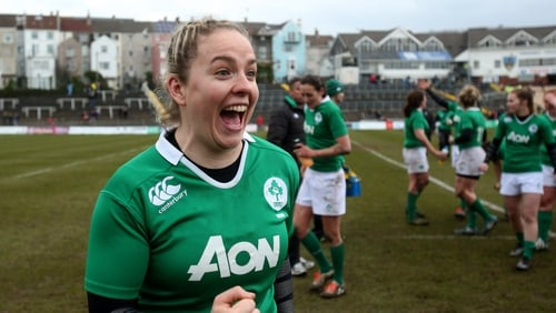 Ireland captain Niamh Briggs was part of the side that reached the semi-final at last year's World Cup in Paris