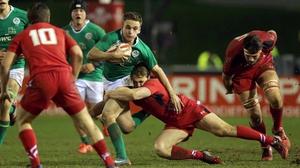 Scrum-half Nick McCarthy will captain Ireland against Scotland
