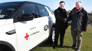 Land Rover helps Irish Red Cross
