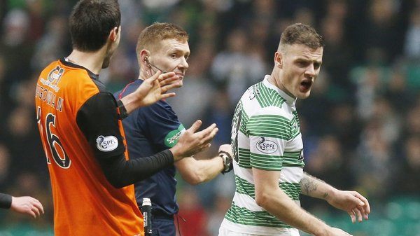 Anthony Stokes has gone on loan to Hibernian