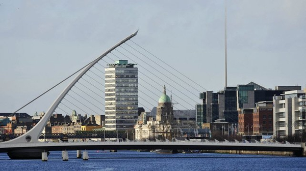 The Nevin Economic Research Institute says 94% of the jobs created last year were in the Dublin area