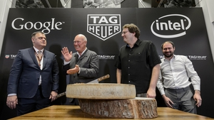 Tag Heuer chief Jean-Claude Biver says 'Silicon Valley and Switzerland are going to conquer the market of the connected watch'