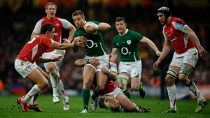 Luke Fitzgerald was part of Ireland's Grand Slam side of 2009 and was also a Lion tourist that year in South Africa