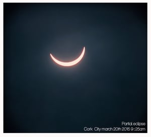 Kevin Mulcahy captured the eclipse from Cork