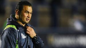 Connacht head coach Pat Lam