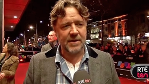 Russell talks to TEN on the red carpet premiere for The Water Diviner in Dublin