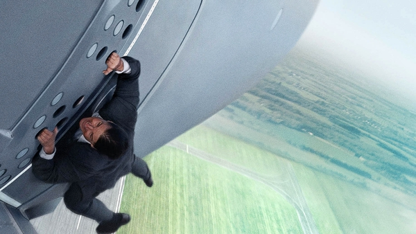 Tom Cruise in action in 2015's Mission: Impossible - Rogue Nation