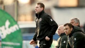 Republic of Ireland U17s manager Tom Mohan