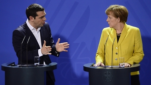 Alexis Tsipras and Angela Merkel held a joint press conference this evening