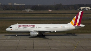 The Airbus A320 jet was operated by Lufthansa budget division Germanwings