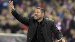 Former Argentina captain Diego Simeone led Atletico to their first league title in 18 years