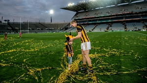 With his son Henry after the 2014 All-Ireland final replay, having won his 10th All-Ireland title