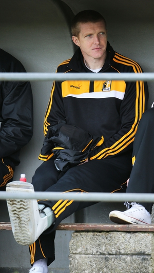 In the dugout before the Division 1 semi-final in 2013, a season a stress fracture curtailed his playing time
