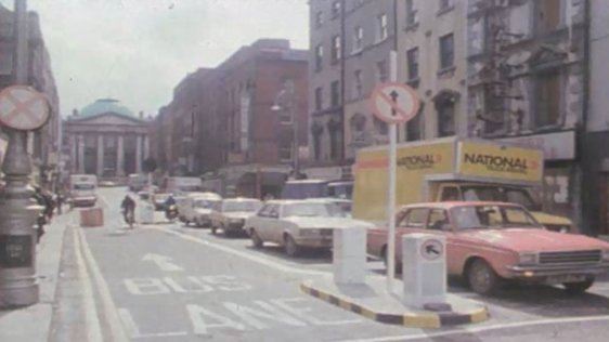 Dublin's First Bus Lane