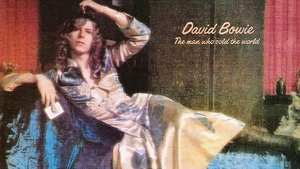 The original UK sleeve art for The Man Who Sold the World