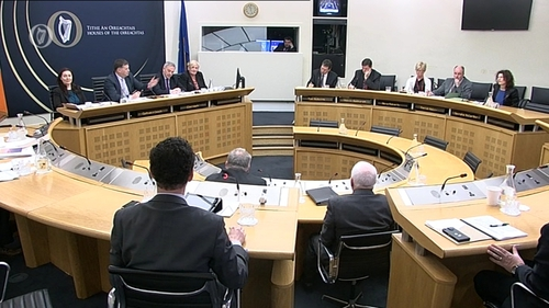 RTÉ representatives appear before Oireachtas committee