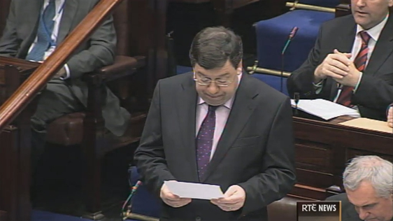 Brian Cowen Delivers His Third Budget
