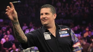 Gary Anderson was in flying form at the Ricoh Arena