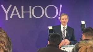 Enda Kenny was speaking at the opening of Yahoo!'s new EMEA headquarters in Dublin