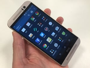 The HTC One M9 has a new camera, speakers and chipset