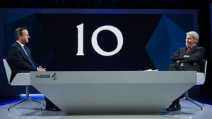 David Cameron insisted the UK was 'immeasurably stronger' as a result of the five-year coalition government
