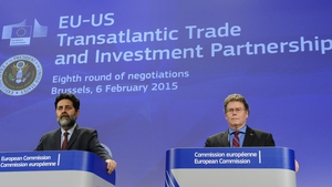 The report says a TTIP deal would increase the size of the Irish economy by just over 1%