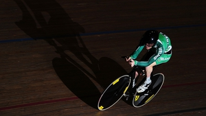 Eoghan Clifford made his track cycling debut just six weeks ago