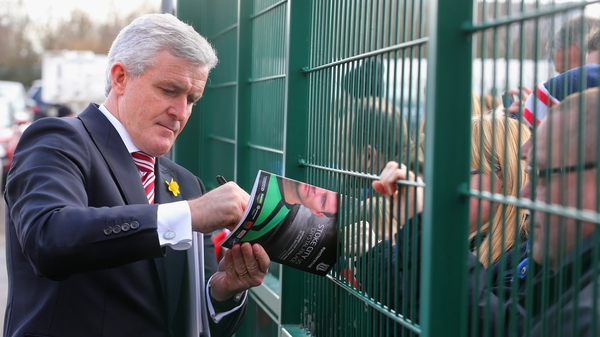 Mark Hughes believes it's time for him to win a trophy as a manager