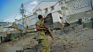 14 people were killed in an attack on a hotel in Moghadishu by Al Shabaab in March