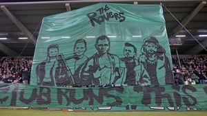 Shamrock Rovers fans pay homage to cult classic, The Warriors, ahead of their Dublin derby with rivals Bohemians