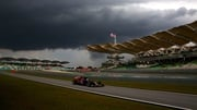 A storm disrupted qualifying at the Malaysia One Grand Prix
