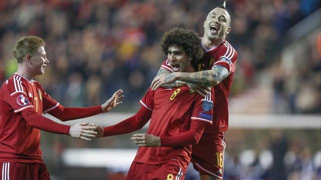 Euro 2016 round-up: Belgium win big in Brussels