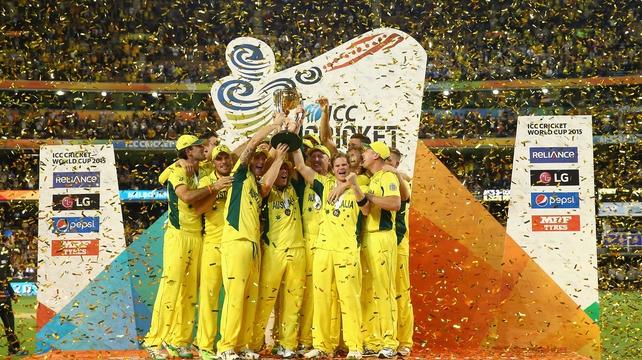 Australia crush New Zealand to claim 5th World Cup