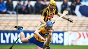 Kilkenny's Colin Fennelly tackles Conor Ryan