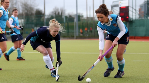 Ulster Elks' Stephaine Jameson and Eimear Horan of Hermes