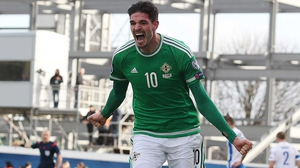 Kyle Lafferty has scored seven goals during the qualifying campaign