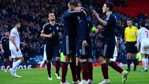 ffe0e098d54 Steven Fletcher became the first Scotland player to score a hat-trick since  Colin Stein