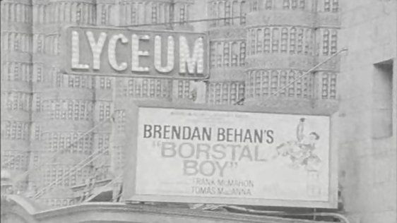 Borstal Boy on Broadway