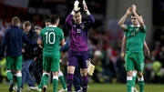 Shay Given was back playing a competitive clash for Ireland for the first time since EURO 2012