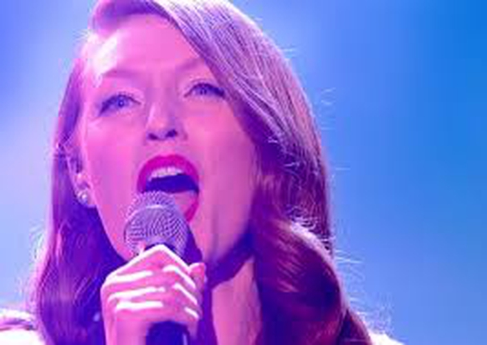 The Voice UK finalist - Lucy O'Byrne