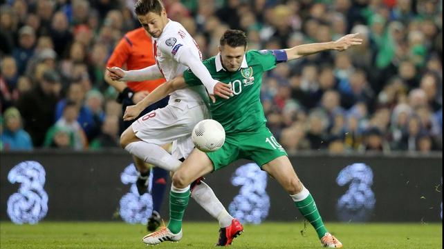 Robbie Keane hails Ireland's resolve