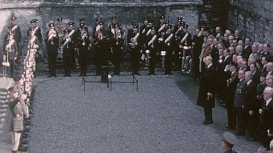 President Lays Wreath at Kilmainham Gaol