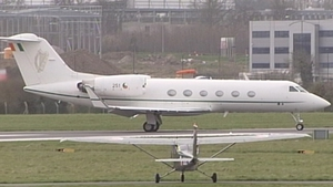 The Gulfstream Jet aircraft was purchased in 1992 for €45m